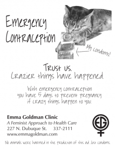 Emergency Contraception - Crazier things have happened