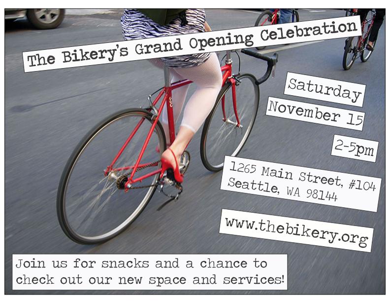 The Bikery's Grand Opening Invitation