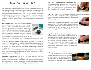An inside spread from 'Basic Bicycle Maintenance'